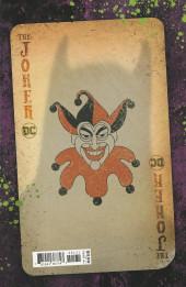 Verso de Joker (The): 80th Anniversary - The Joker: 80th anniversary