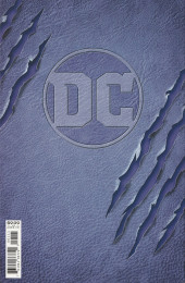Verso de Catwoman: 80th anniversary