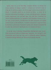 Verso de Au temps de Botchan -3- Volume 3 - La danseuse de l'automne