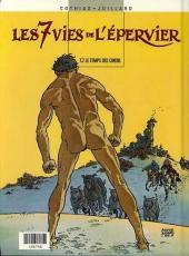 Verso de Les 7 vies de l'Épervier (Albums doubles France Loisirs) -12- La blanche morte / Le temps des chiens