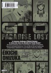 Verso de GTO - Paradise Lost -12- Vol. 12