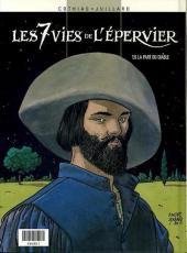 Verso de Les 7 vies de l'Épervier (Albums doubles France Loisirs) -56- Le maître des oiseaux / La part du diable