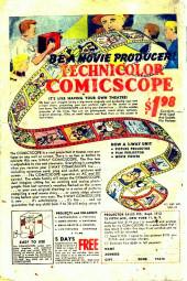 Verso de Blonde Phantom Comics (Timely Comics - 1946) -12- Issue # 12
