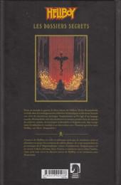 Verso de Hellboy (Les Dossiers secrets de) -1- Raspoutine