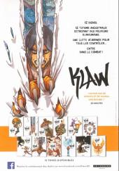 Verso de Klaw -1Extrait2- Éveil
