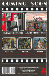 Verso de Cinema purgatorio (2016) -15TL- Cinema purgatorio