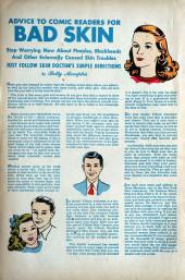 Verso de Blonde Phantom Comics (Timely Comics - 1946) -17- Issue # 17