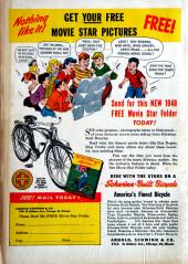 Verso de Blonde Phantom Comics (Timely Comics - 1946) -19- Issue # 19
