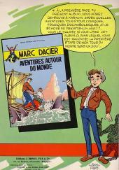 Verso de Marc Dacier (1re série) -2- A la Poursuite du Soleil