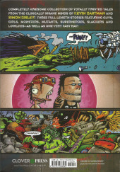 Verso de Kevin Eastman's Totally Twisted Tales