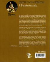 Verso de (DOC) Études et essais divers - Guerre civile espagnole et bande dessinée