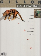 Verso de Les léviathans -1a- Le plan Aspic