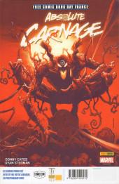 Verso de Free Comic Book Day 2020 (France) - Spider-Man - De père en fils / Absolute Carnage