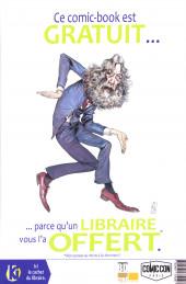 Verso de Free Comic Book Day 2020 (France) - Visions - KIF (Komics Initiative Free) #2