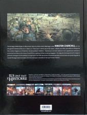 Verso de Ils ont fait l'Histoire -26a2019- Churchill - Tome 1/2