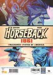 Verso de Free Comic Book Day 2020 (France) - Carbone & Silicium / Horseback 1861