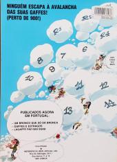 Verso de Gaston (en portugais) -8- Lagaffe faz das suas