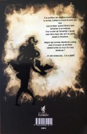Verso de Les fabuleuses aventures de Ludwig Van Multbutter et de son fidèle compagnon Gérard -1- Poulpe, pigeon et palefroi