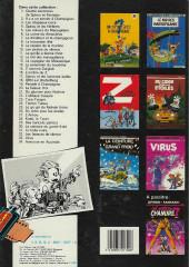 Verso de Spirou et Fantasio -15b1985- Z comme Zorglub