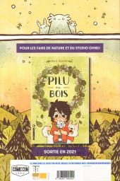 Verso de Le garçon Sorcière -2FCBD- La Sorcière secrète - Free Comic Book Day 2020