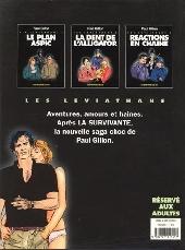 Verso de Les léviathans -3- Réaction en chaîne