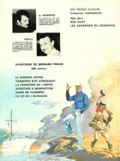 Verso de Bernard Prince -3a1973'- La frontière de l'enfer