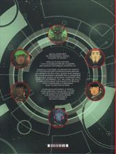 Verso de Les chroniques de l'Univers -1- La Thrombose du Cygne