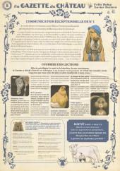 Verso de Le château des Animaux -5- La Gazette du Château n°5