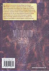 Verso de Vinland Saga -23- Tome 23