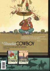 Verso de The shaolin Cowboy (Futuropolis) -INT2- Buffet à volonté