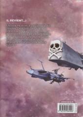 Verso de Capitaine Albator - Dimension voyage -10- Tome 10