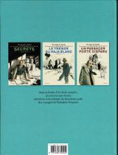 Verso de Théodore Poussin -INT-02- Récits complets - Aventurier par destin