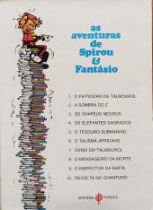 Verso de Spirou e Fantásio (en portugais) -29- Revolta no Chantung
