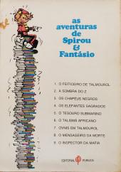 Verso de Spirou e Fantásio (en portugais) -28- O inspector da mafia
