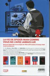 Verso de Spider-Man : L'Histoire d'une vie -VC1- Spider-man : l'histoire d'une vie