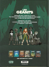 Verso de Les géants (Lylian/Drouin) -1- Erin