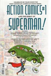 Verso de Action comics : 80 years of Superman the deluxe edition - 80 years of Superman the deluxe edition
