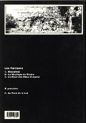 Verso de Les partisans (Magnus) -3- Le Mont des Deux Dragons