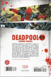 Verso de Deadpool - La collection qui tue (Hachette) -3023- Légendes vivantes