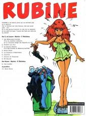 Verso de Rubine -9- Cité modèle