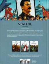Verso de Les grands Personnages de l'Histoire en bandes dessinées -37- Staline