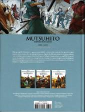Verso de Les grands Personnages de l'Histoire en bandes dessinées -39- Mutsuhito, empereur du Japon