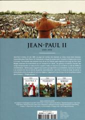 Verso de Les grands Personnages de l'Histoire en bandes dessinées -38- Jean-Paul II