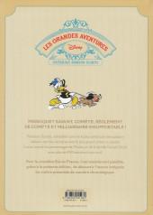 Verso de Les grandes aventures Disney de Romano Scarpa -7- Le Perroquet savant et autres histoires (1962)