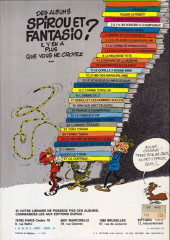 Verso de Spirou et Fantasio -18b1982- QRN sur Bretzelburg