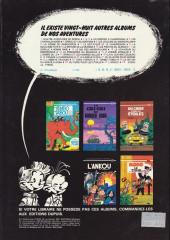 Verso de Spirou et Fantasio -20b1982- Le faiseur d'or