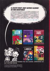 Verso de Spirou et Fantasio -22a1980- L'abbaye truquée