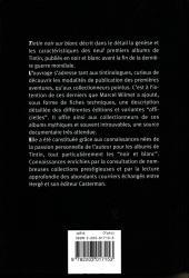 Verso de Tintin - Divers - Tintin Noir sur Blanc
