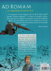 Verso de Ad Romam -1- Le trophée d'Auguste