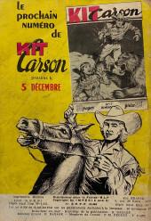 Verso de Kit Carson -16- L'or des espagnols